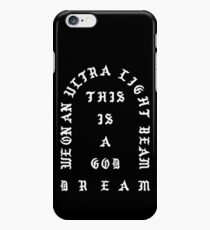 Ultralight Beam - Black and White iPhone 6 Case
