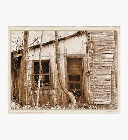 """""""Tennessee Mountain Home""""... prints and products Photographic Print"""