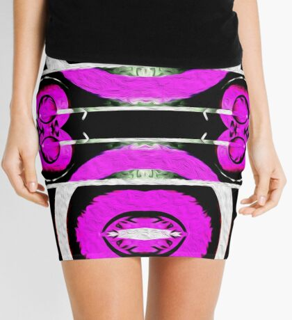 Surf Girl Abstract III Mini Skirt