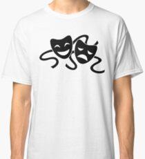 Theater Masks Classic T-Shirt