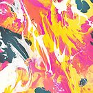 Phux and yellow psychedelic marble ink by mikath