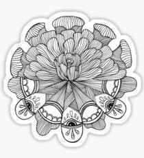 Mandala - Third Eye Flower Sticker