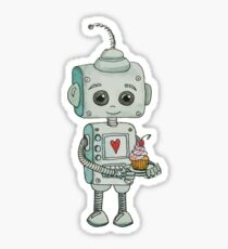 Robot Sticker