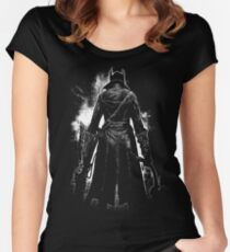 Old Blood Women's Fitted Scoop T-Shirt