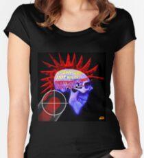 PUNK ROCKS Women's Fitted Scoop T-Shirt