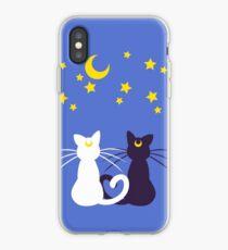 Moon Kitties iPhone Case