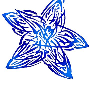 Abstract Starfish by svetIu