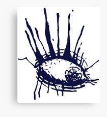 Ink Eye Canvas Print