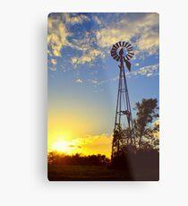 Texas Windmill  Metal Print
