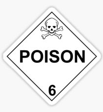 POISON - LEVEL 6 Sticker