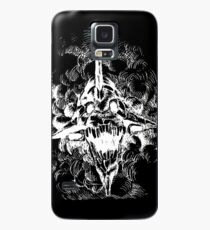 Funda/vinilo para Samsung Galaxy Eva Unit 01 Awaken Head - Negativo