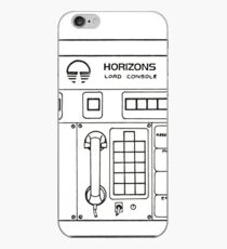 Horizons Load Console Control Panel Diagram from Epcot iPhone Case