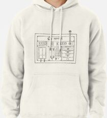 Horizons Load Console Control Panel Diagram from Epcot Pullover Hoodie