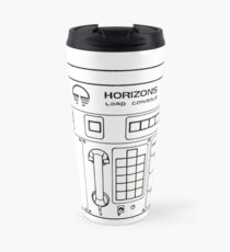 Horizons Load Console Control Panel Diagram from Epcot Travel Mug