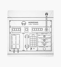 Horizons Load Console Control Panel Diagram from Epcot Scarf