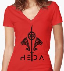 The One True Heda Women's Fitted V-Neck T-Shirt
