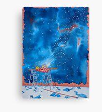 Picnic Amongst the Stars Canvas Print