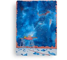 Picnic Amongst the Stars Canvas Print