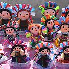 Colorful Ribbon Dolls in Cabo San Lucas, Mexico  by MaryVailMBA