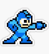 8-bit Megaman Sticker