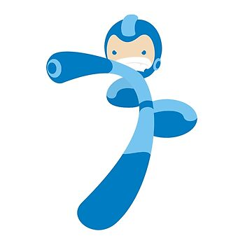 Megaman by whitedesigner