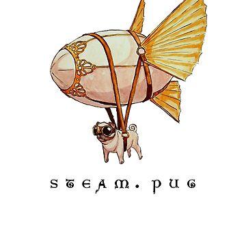 Steam Pug by whitedesigner