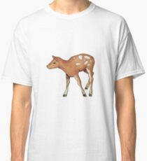 Little Fawn, Original Color Pencil Drawing, Wildlife Art Classic T-Shirt