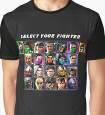 Ultimate Mortal Kombat 3 Character Select Graphic T-Shirt