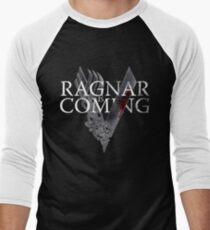 VIKINGS - Ragnar is coming Men's Baseball ¾ T-Shirt