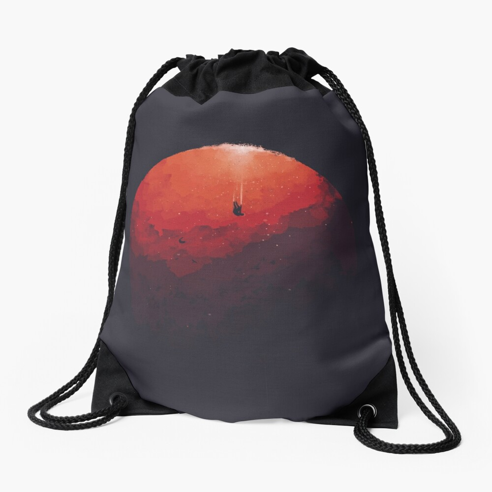 Astral Projection Drawstring Bag