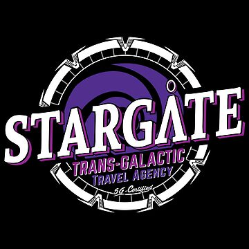 Stargate - Trans-galactic travel agency - purple by moombax
