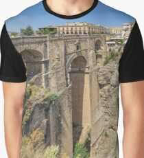 Puente Nuevo Bridge, Ronda, Andalucia, Spain Graphic T-Shirt