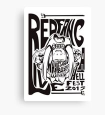 Red Fang Canvas Print