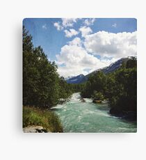 Norway mountain  Canvas Print
