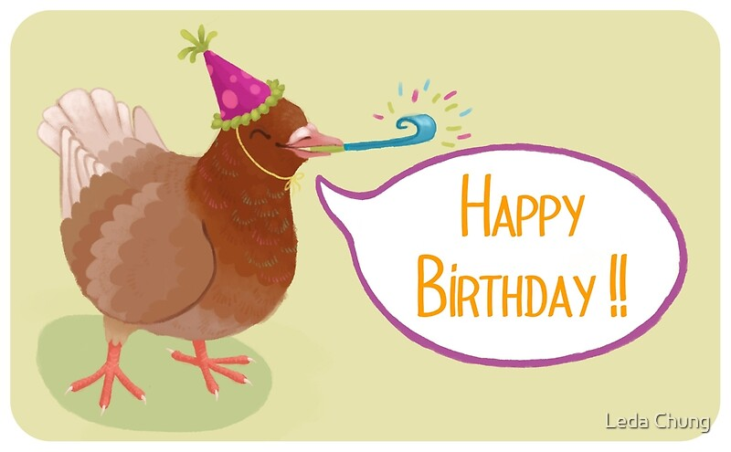 Happy birthday pigeon greeting cards by leda chung redbubble happy birthday pigeon bookmarktalkfo Images