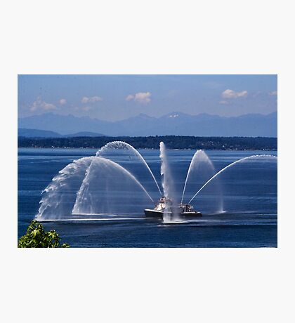 Seattle Fireboat Photographic Print