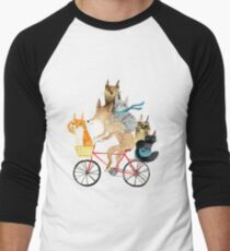 Dog and cats cycling T-Shirt