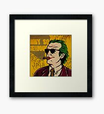 Killig Jack Framed Print