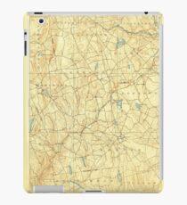 USGS TOPO Map Connecticut CT Gilead 331027 1892 62500 iPad Case/Skin