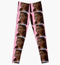 Pink Buffy Summers Leggings