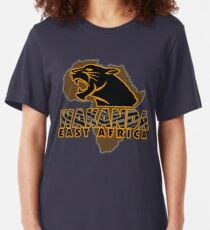 African Nation Slim Fit T-Shirt