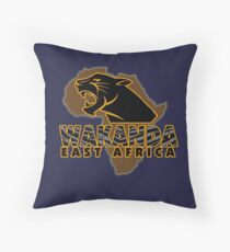 African Nation Throw Pillow