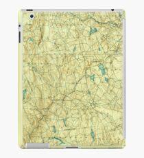 USGS TOPO Map Connecticut CT Gilead 331031 1892 62500 iPad Case/Skin