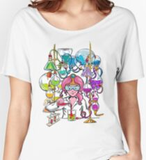 Science With Princess Bubblegum Women's Relaxed Fit T-Shirt