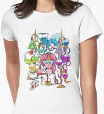 Science With Princess Bubblegum Women's Fitted T-Shirt