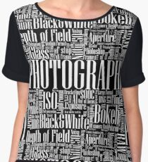 Photography Women's Chiffon Top