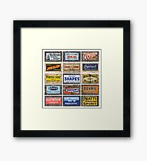 15 Signs Framed Print
