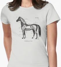 Identifying your horse Women's Fitted T-Shirt