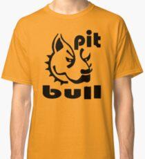Pit Bull Head Classic T-Shirt