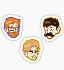 Team Gents Stickers Sticker